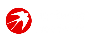 Lightwing Woodwork Logo