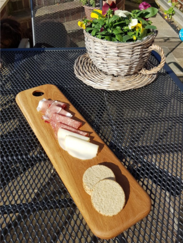 Solid Cherry Charcuterie Board | Handmade Gifts